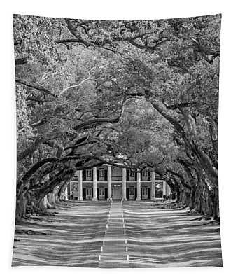 Southern Time Travel Bw Tapestry