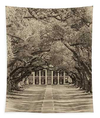 Southern Time Travel Sepia Tapestry