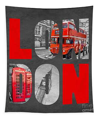 Souvenir Of London Tapestry