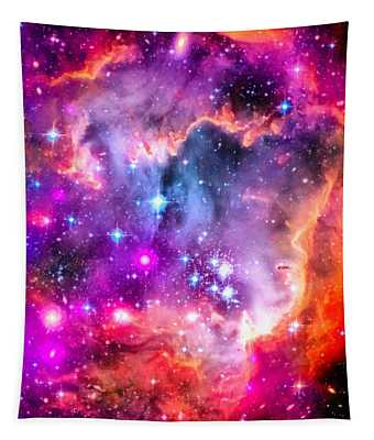 Space Image Small Magellanic Cloud Smc Galaxy Tapestry