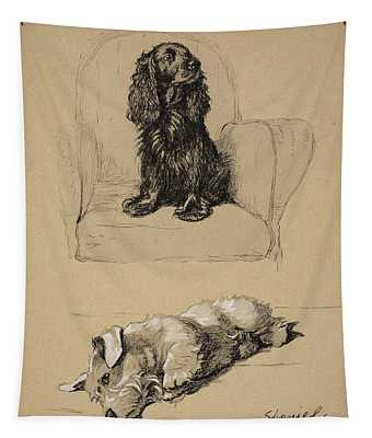 Spaniel And Sealyham, 1930 Tapestry