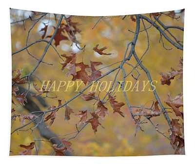 Special Holiday Greetings Tapestry