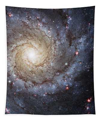 Spiral Galaxy M74 Tapestry