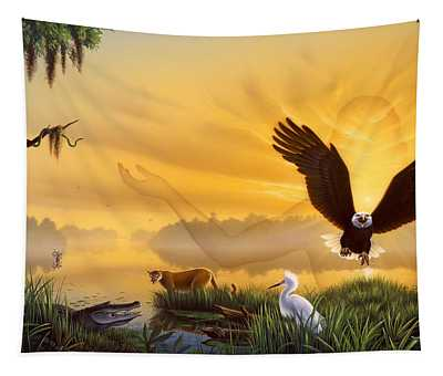 Spirit Of The Everglades Tapestry