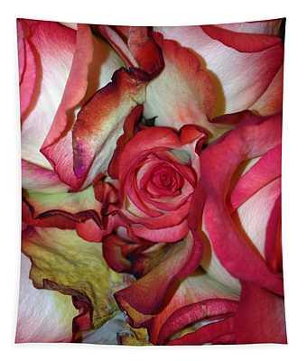 Spirited Rose  Tapestry