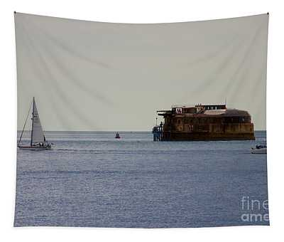 Spitbank Fort Martello Tower Tapestry