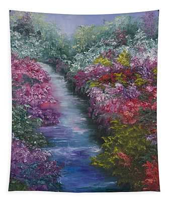 Splash Of Spring Tapestry