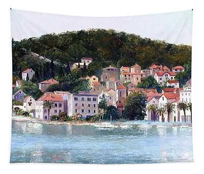 Split Harbour Croatia Tapestry