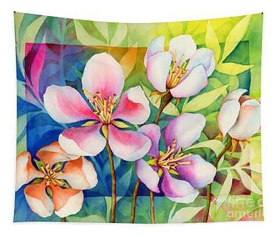 Spring Ballerinas Tapestry