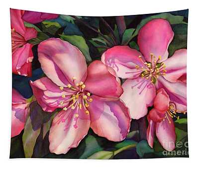 Spring Blossoms Tapestry