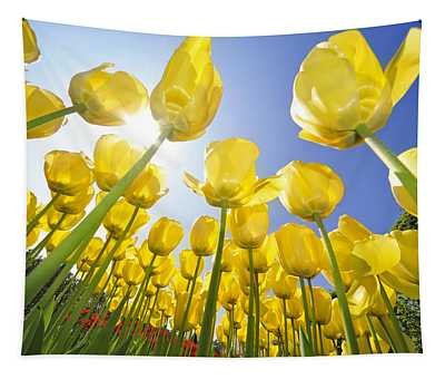 Spring Flowers 5 Tapestry