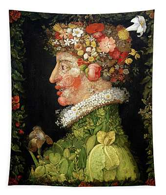 Spring, From A Series Depicting The Four Seasons Tapestry
