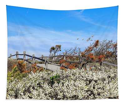 Spring On Cape Cod Tapestry