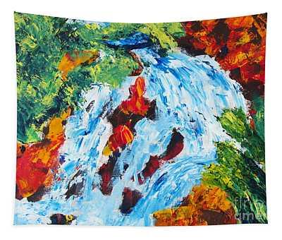 Spring Run-off 2 Tapestry