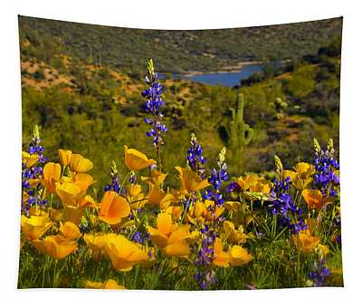 Spring Southwest Style  Tapestry
