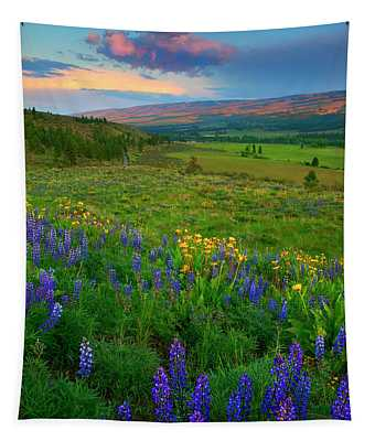 Spring Storm Passing Tapestry