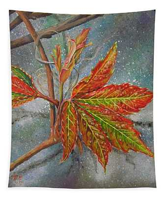 Spring Virginia Creeper Tapestry
