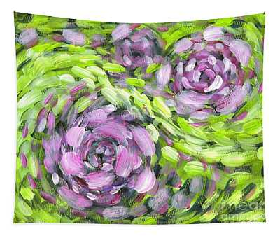 Spring Whirl Tapestry