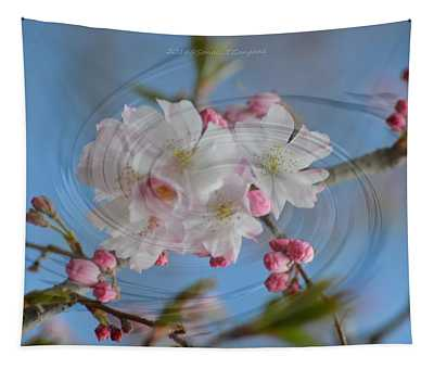 Springing Blossoms Tapestry
