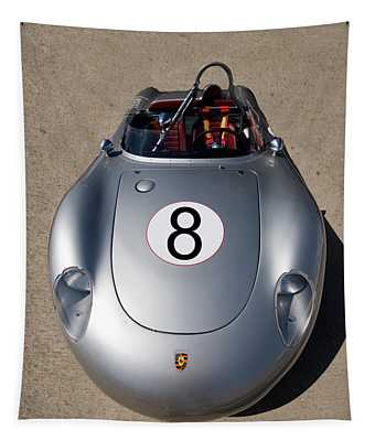 Spyder Race Car Tapestry by Peter Tellone