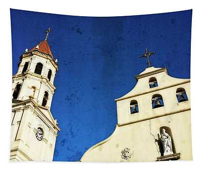 St. Augustine Florida By Sharon Cummings Tapestry