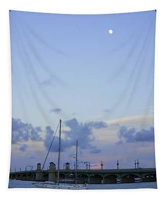 St. Augustine Sunset Tapestry