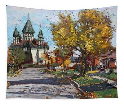 St. Marys Ukrainian Catholic Church Tapestry