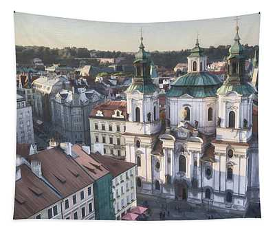 St Nicholas Prague Tapestry