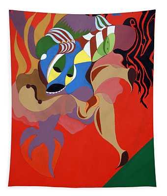 Stage Dancer Tapestry