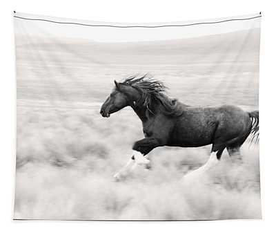 Stallion Blur Tapestry
