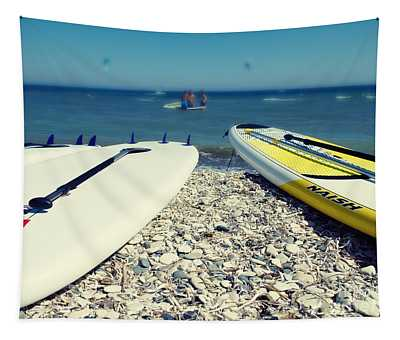 Stand Up Paddle Boards Tapestry