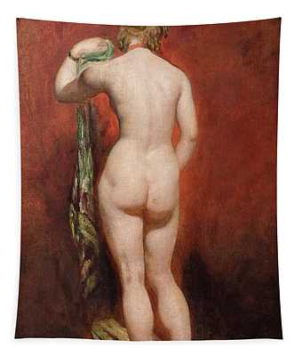 Standing Female Nude Tapestry
