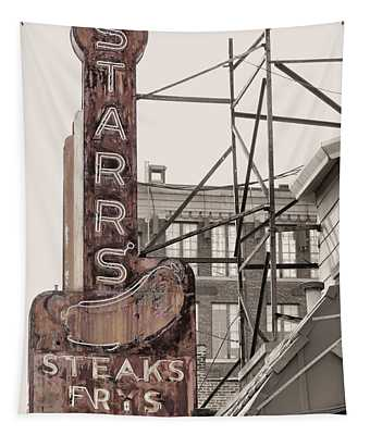 Stars Steaks Frys And Burgers Tapestry