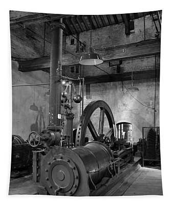 Steam Engine At Locke's Distillery Tapestry
