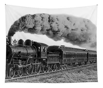 Steam Locomotive No. 999 - C. 1893 Tapestry