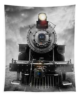 Steam Train Dream Tapestry