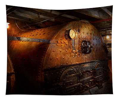 Steampunk - Plumbing - The Home Of A Stoker  Tapestry