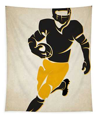 Steelers Shadow Player Tapestry