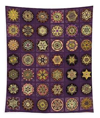 Stellars One Dingbat Quilt Tapestry