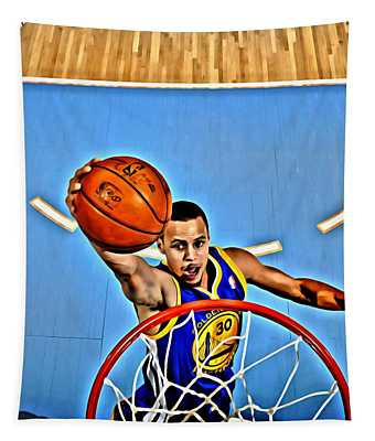 Steph Curry Tapestry