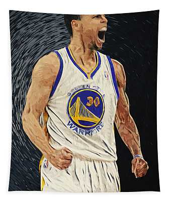 Stephen Curry Tapestry