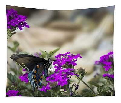 Still Beautiful Swallowtail Tapestry
