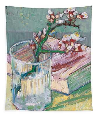 Still Life    A Flowering Almond Branch Tapestry