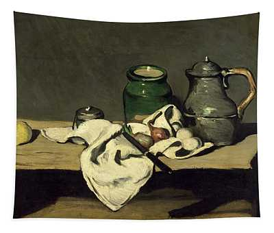 Still Life With A Kettle Tapestry