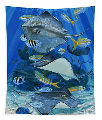 Stingray City Re0011 Tapestry