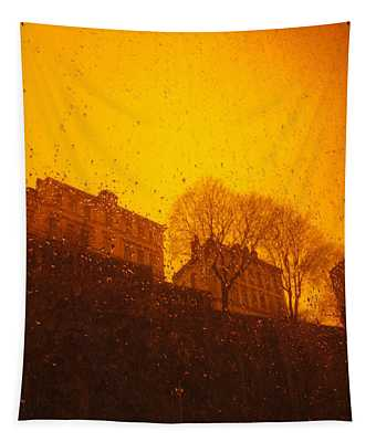 Stockholm The Heights Of South In Silhouette Tapestry