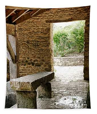 Stone Bench Tapestry