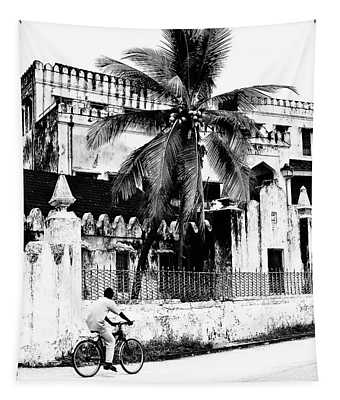 Tanzania Stone Town Unguja Historic Architecture - Africa Snap Shots Photo Art Tapestry