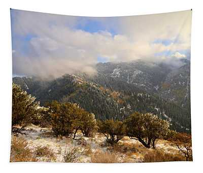 Storm Atop Oquirrhs Tapestry