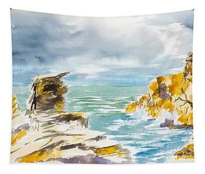 Storm Coming Tapestry